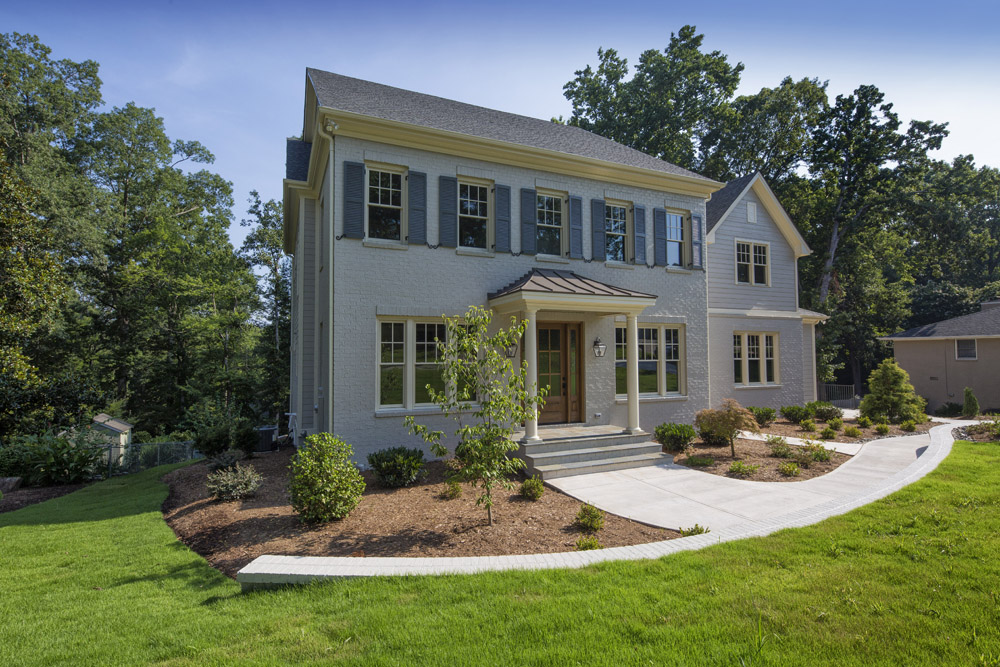 New construction in Raleigh, NC inside the beltline - modern design for today's family